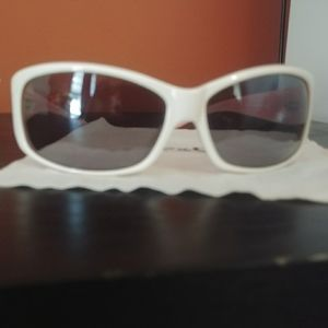 Dolce and Gabanna Pink and White Sunglasses